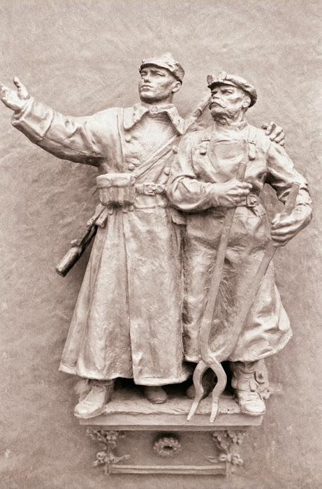Prague, Národní památník na Vítkově, Mémorial national de Vitkov, Jan Zázvorkapour, © L. Gigout, 1990