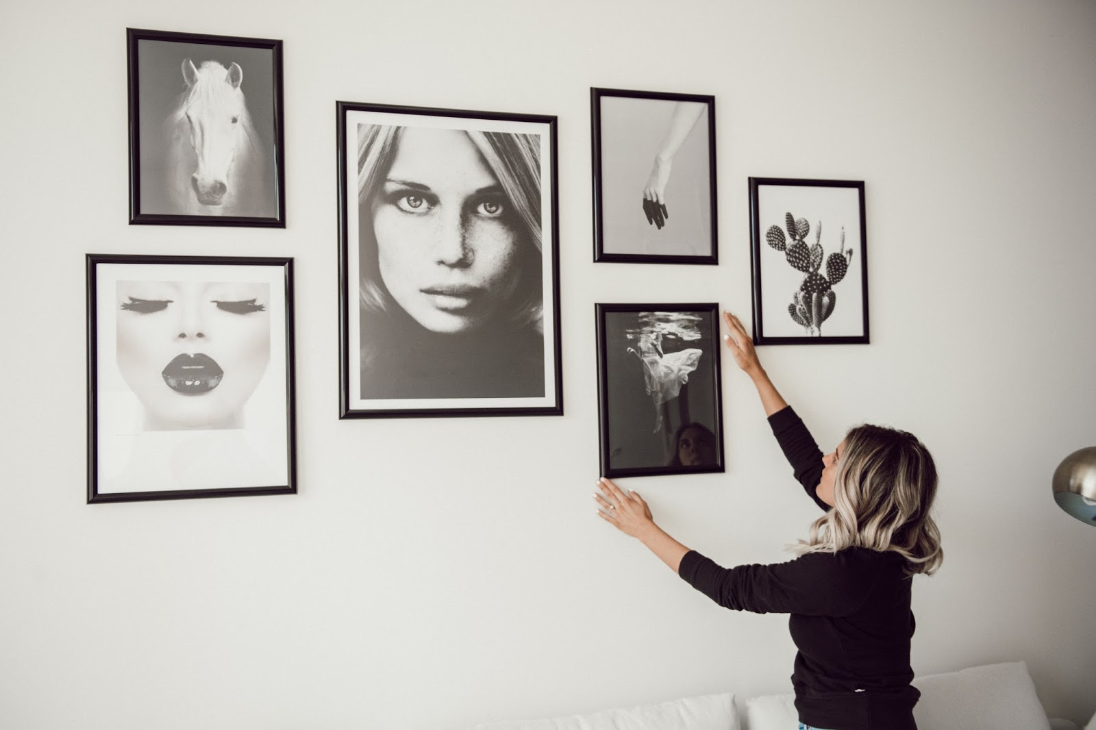 Scandinavian Gallery Wall Art - @taylorwinkelmeyer