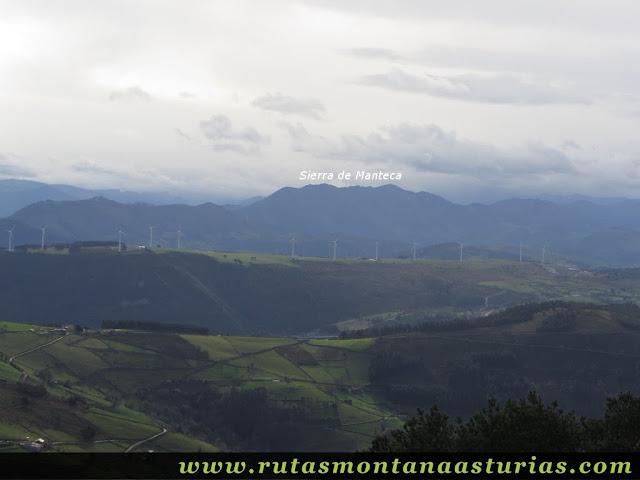 Sierra Manteca desde Aguión