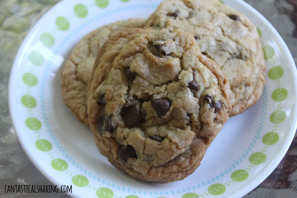 Test Kitchen Chocolate Chip Cookies // If you haven't had a Test Kitchen chocolate chip cookie, you are missing out! They are thick, but chewy and absolutely wonderful. #recipe #chocolate #cookies #dessert