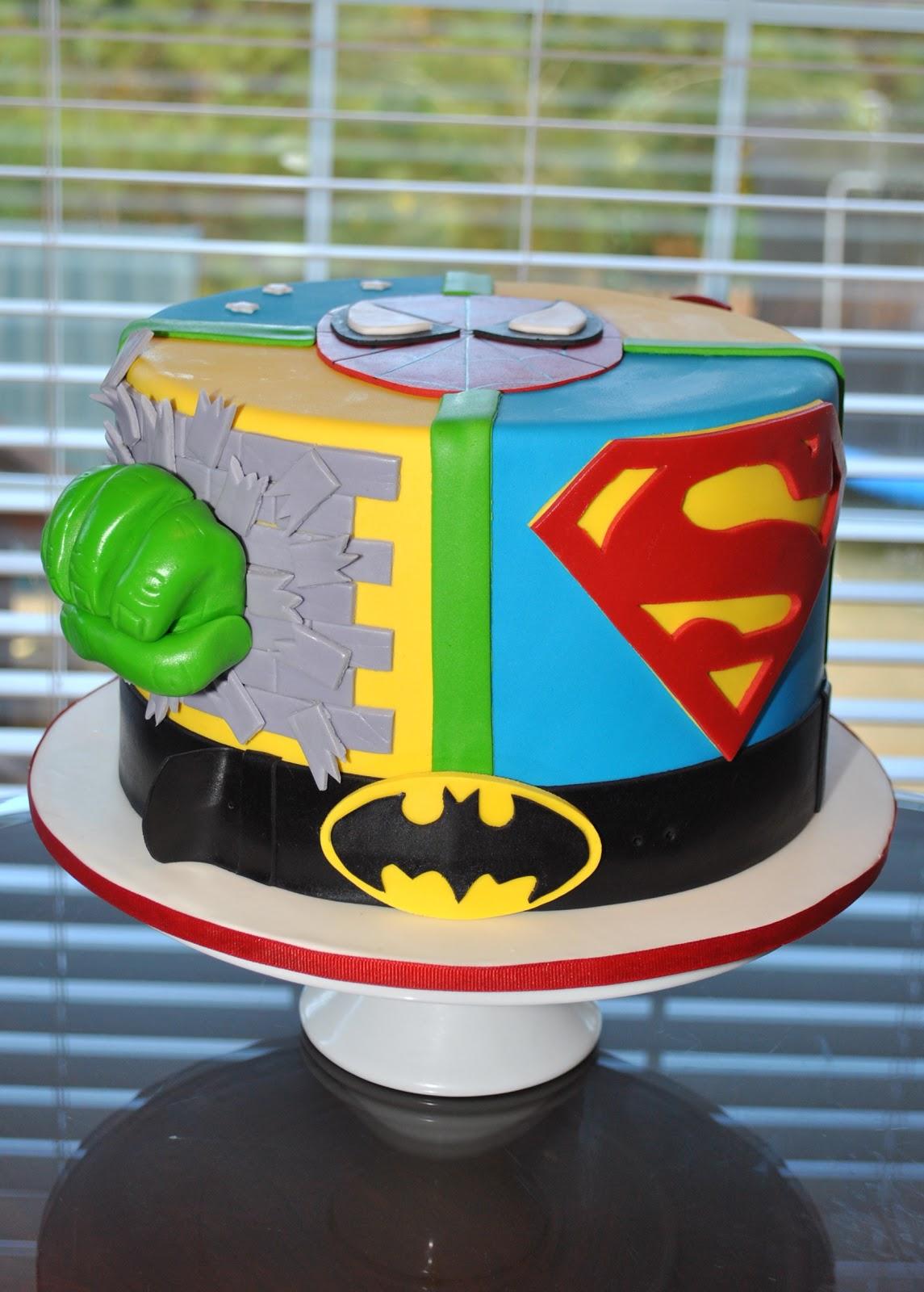 superhero | Happy Cake Studio  |Superhero Cakes