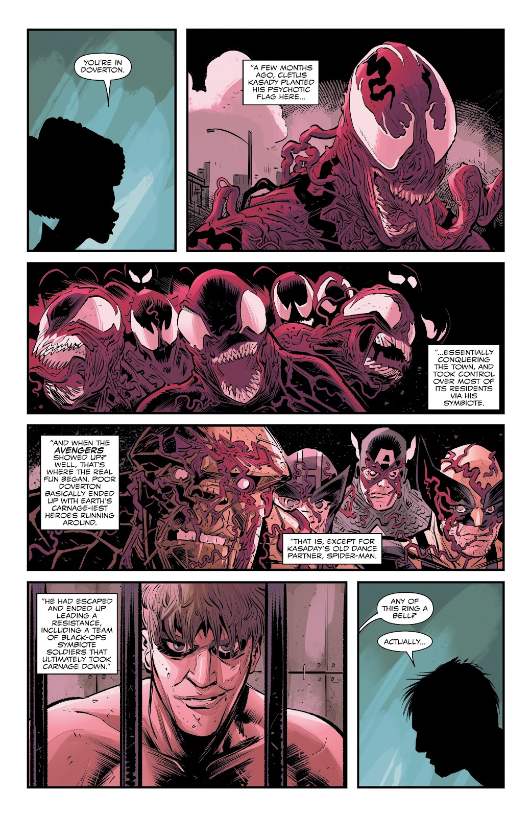 Read online Web of Venom: Cult of Carnage comic -  Issue # Full - 9