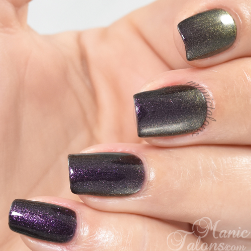 Madam Glam Gel Polish Sparkly Autumn Swatch