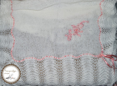 manta feita em trico