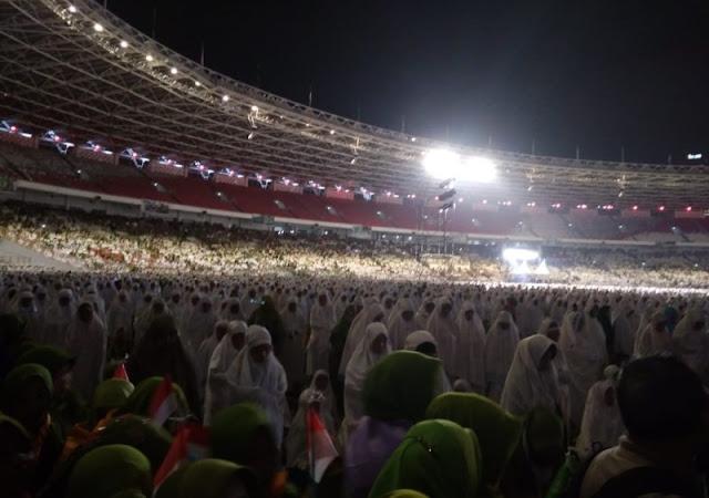 Indonesia Beruntung, Muslimat NU Berdoa Bersama untuk Bangsa