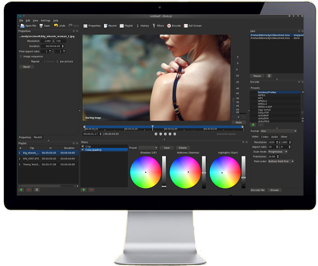 Shortcut Free Video Editing Software
