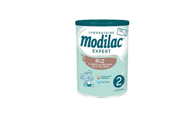 Test et avis Modilac Expert Riz 2, allergie aux protéines de lait de vache