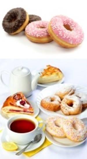 gambar kue donat pisang manis dan legit