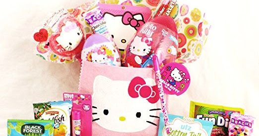 Hello Kitty Easter Basket Treats and Toys