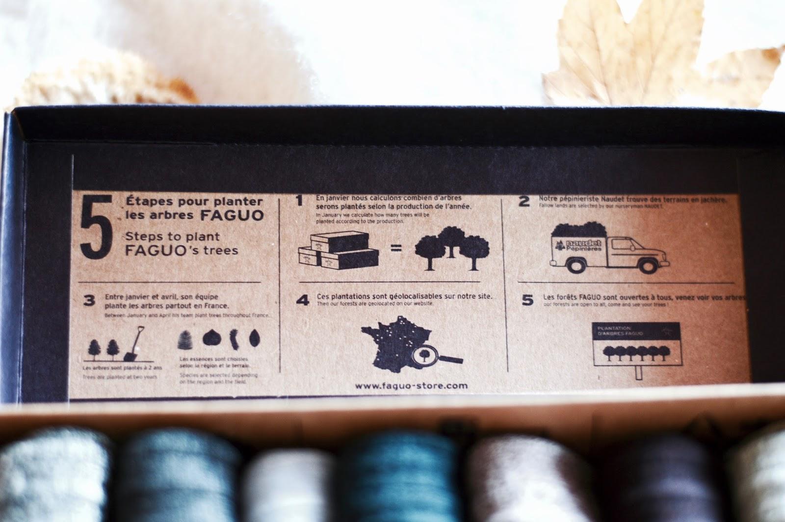 La box homme édition 12 octobre Faguo semainier chaussettes