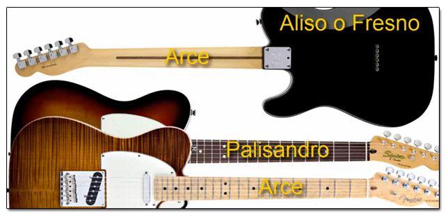 Tipos de Maderas para una Guitarra de Estilo Telecaster