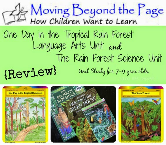 Moving Beyond the Page Unit Study Review from School Time Snippets