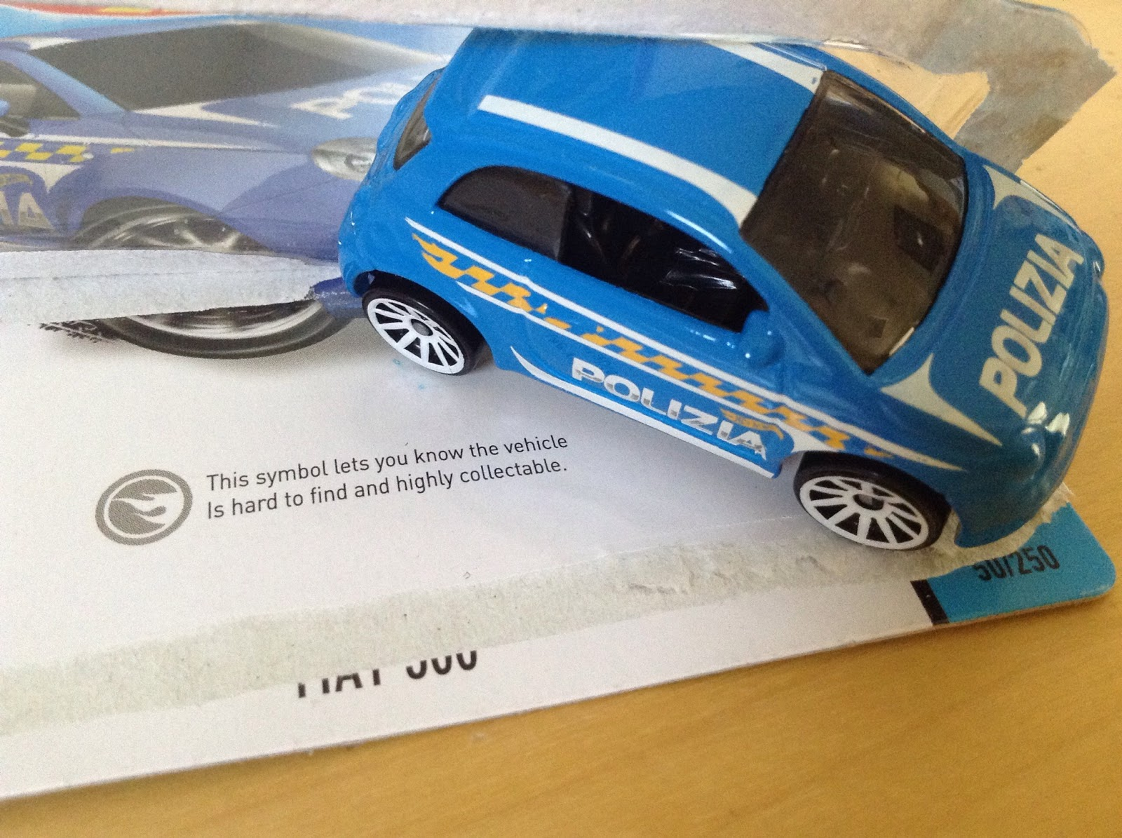 Julians Hot Wheels Blog Fiat 500 The Not A Treasure Hunt Car