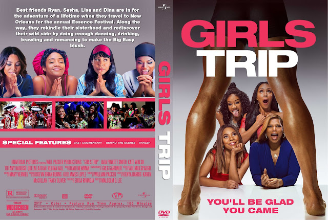 Girls Trip DVD Cover