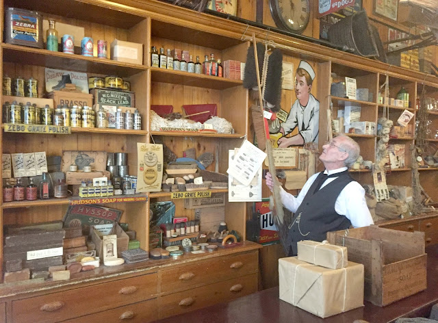 1900's Coop store Beamish museum