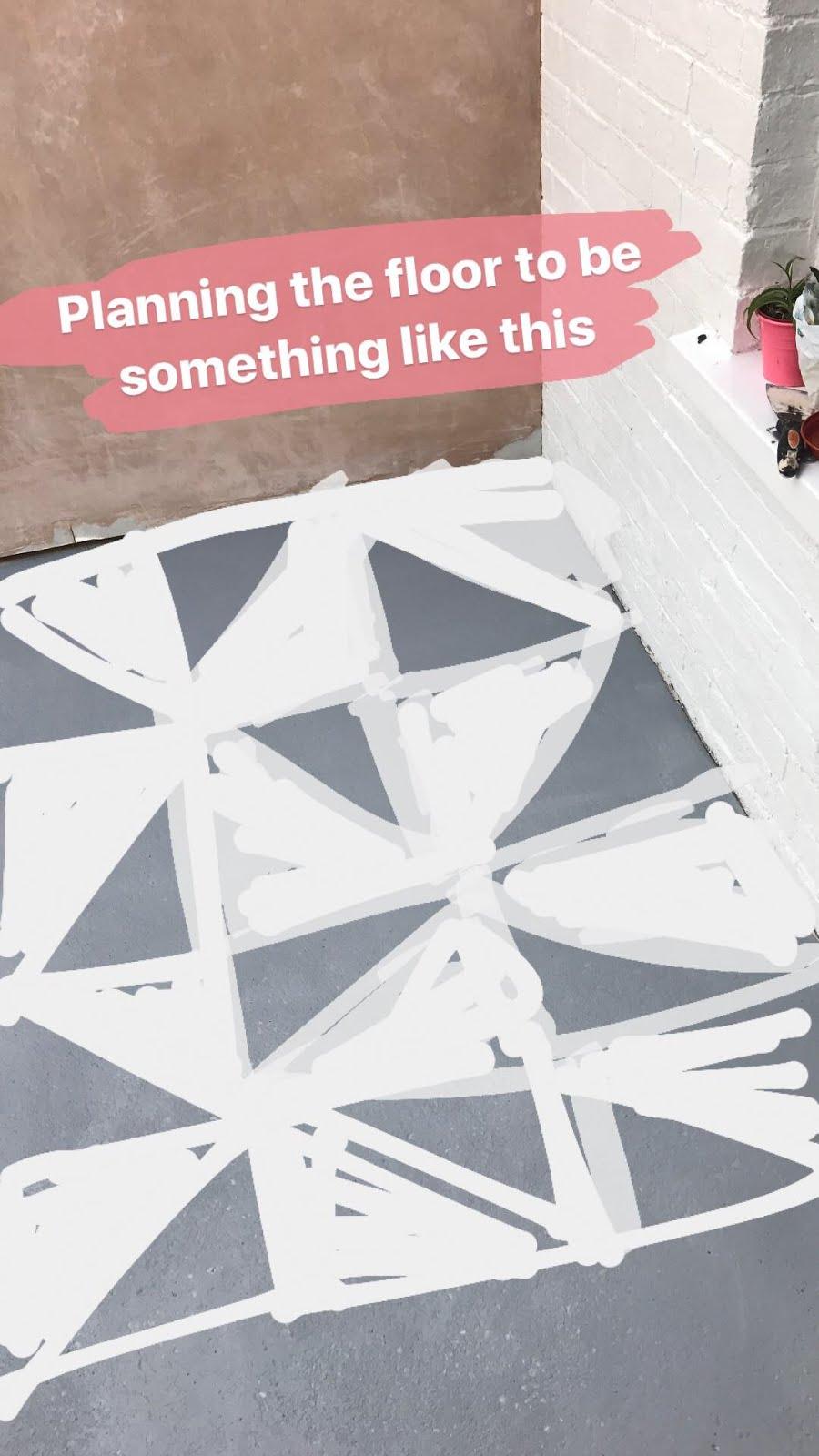 Designing a Patterned Floor