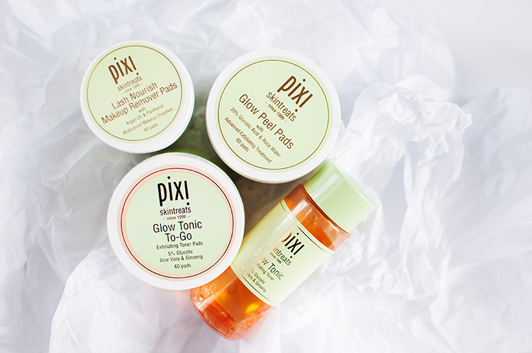 pixi skintreats review, pixi glow tonic review, pixi glow tonic to-go review, pixi haul, pixi glow haul