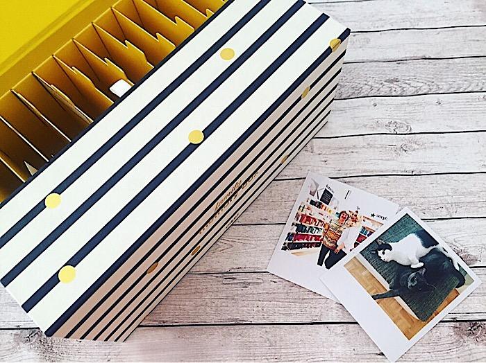 Foto Box mit Polaroids