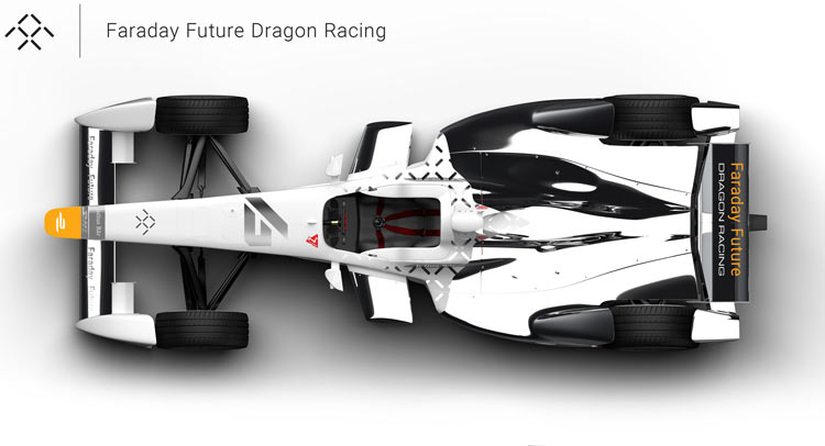 Faraday Future Joins Formula E With Dragon Racing