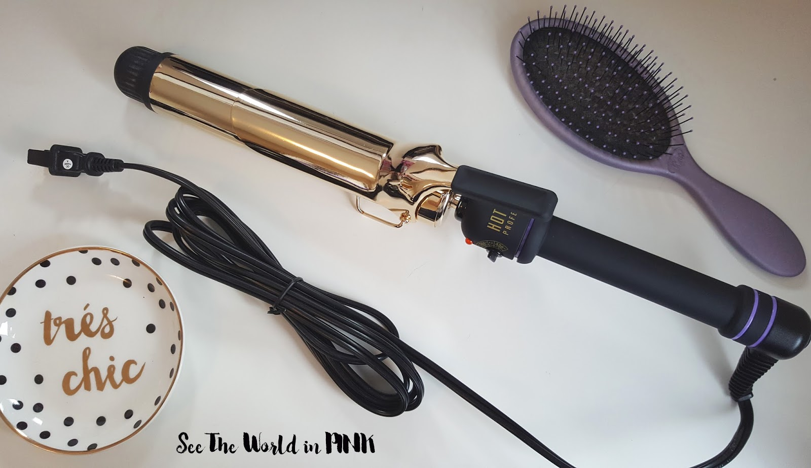"Trade Secrets Give and Take Campaign + Hot Tools 24K Gold Extended 1 1/2"" Curling Iron Review"
