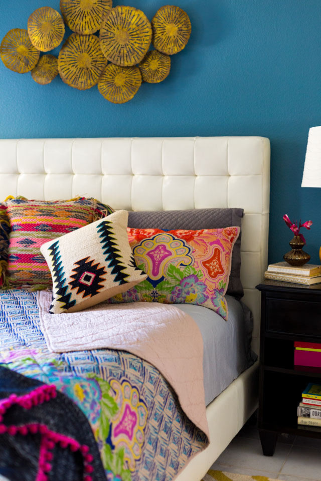 Master bedroom ideas for adding a bohemian style!