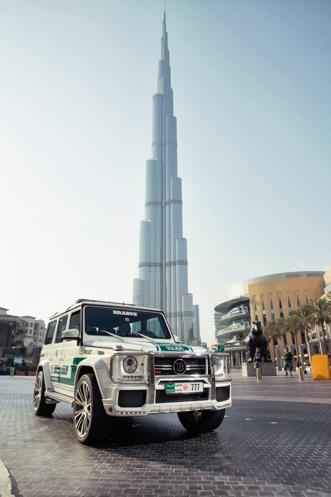 New SUV for Dubai Police | Brabus Mercedes G63 AMG - cars & life | cars fashion lifestyle blog