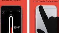 App per misurare la febbre su iPhone come col termometro
