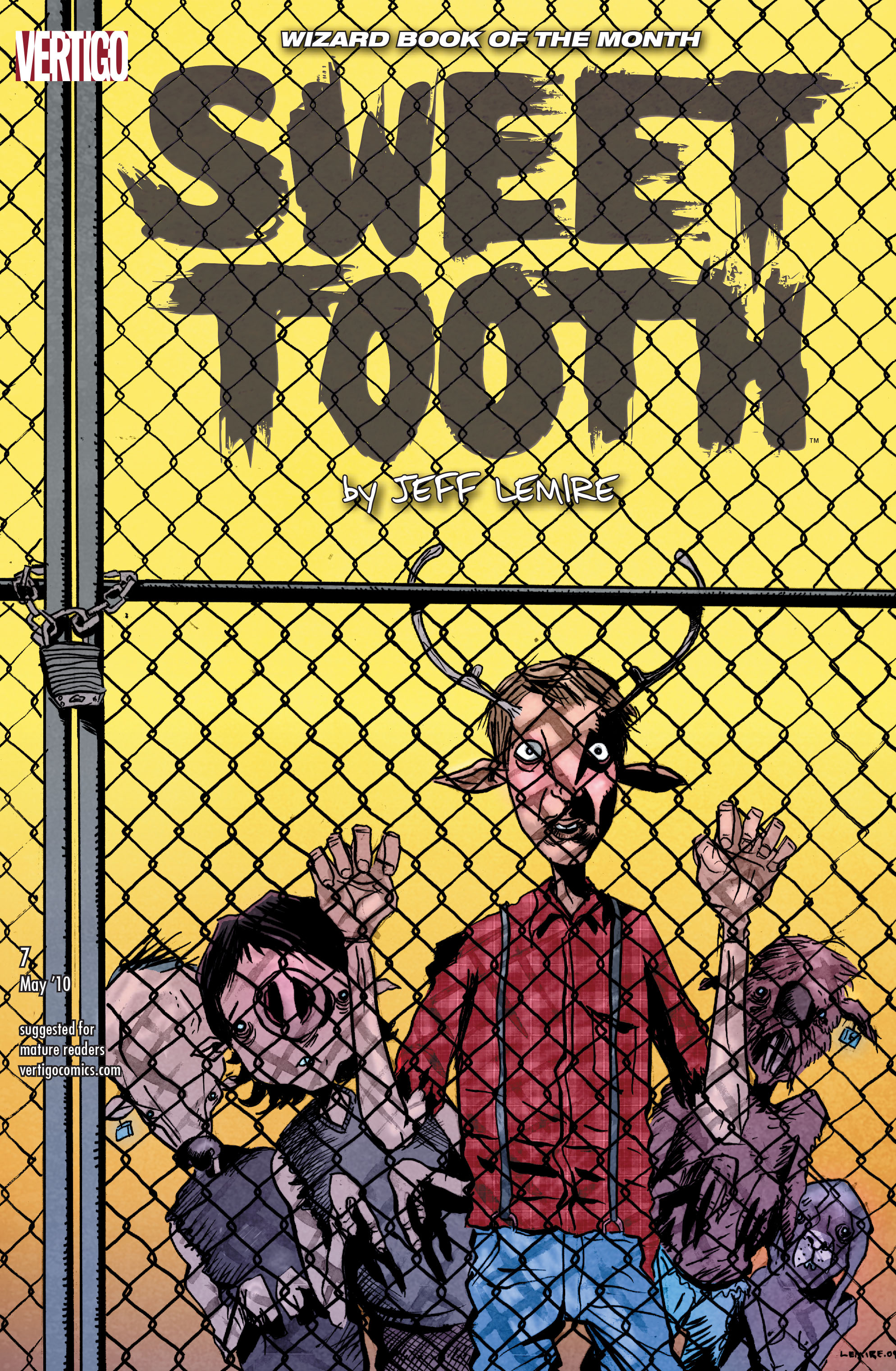 Sweet Tooth issue 7 - Page 1