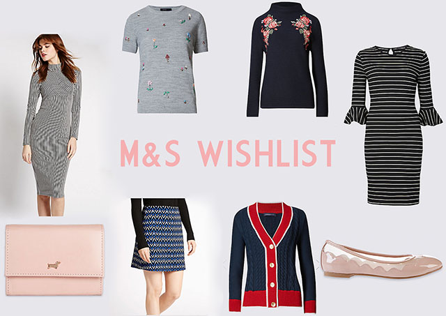Marks and Spencer wishlist