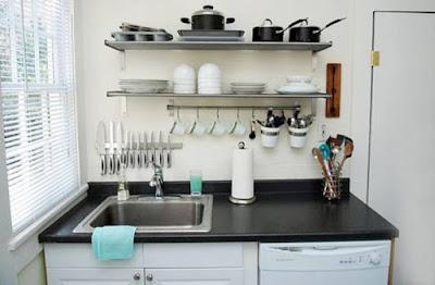 Dapur Rumah Sederhana Rapih