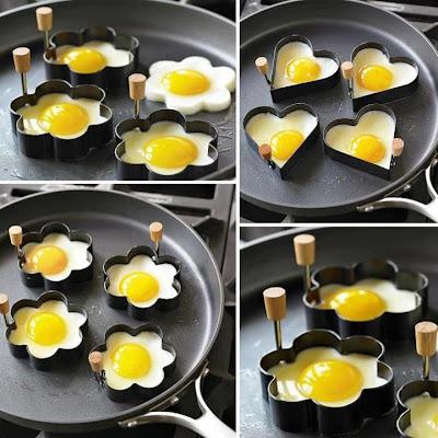 Ovos fofos! Decore seu prato, alegre sua mesa