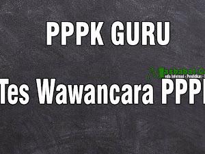 Soal dan Jawaban Tes Wawancara PPPK Guru
