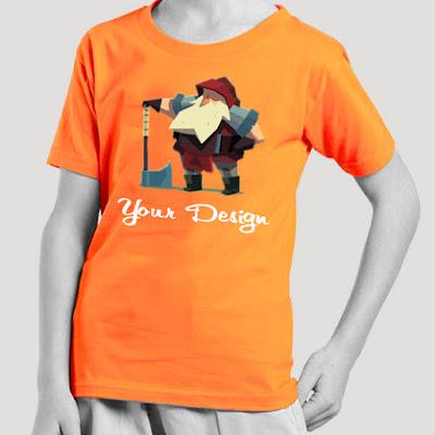 Berikut Cara Mudah Memilih Kaos Anak