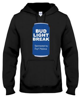 Post Malone Bud Light Break Hoodie Sweatshirt