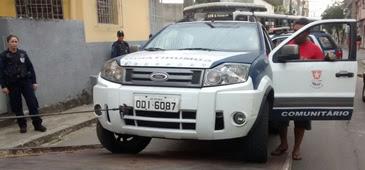 Sucateamento de viatura da Guarda Civil Municipal de Vitória (ES) provoca acidente