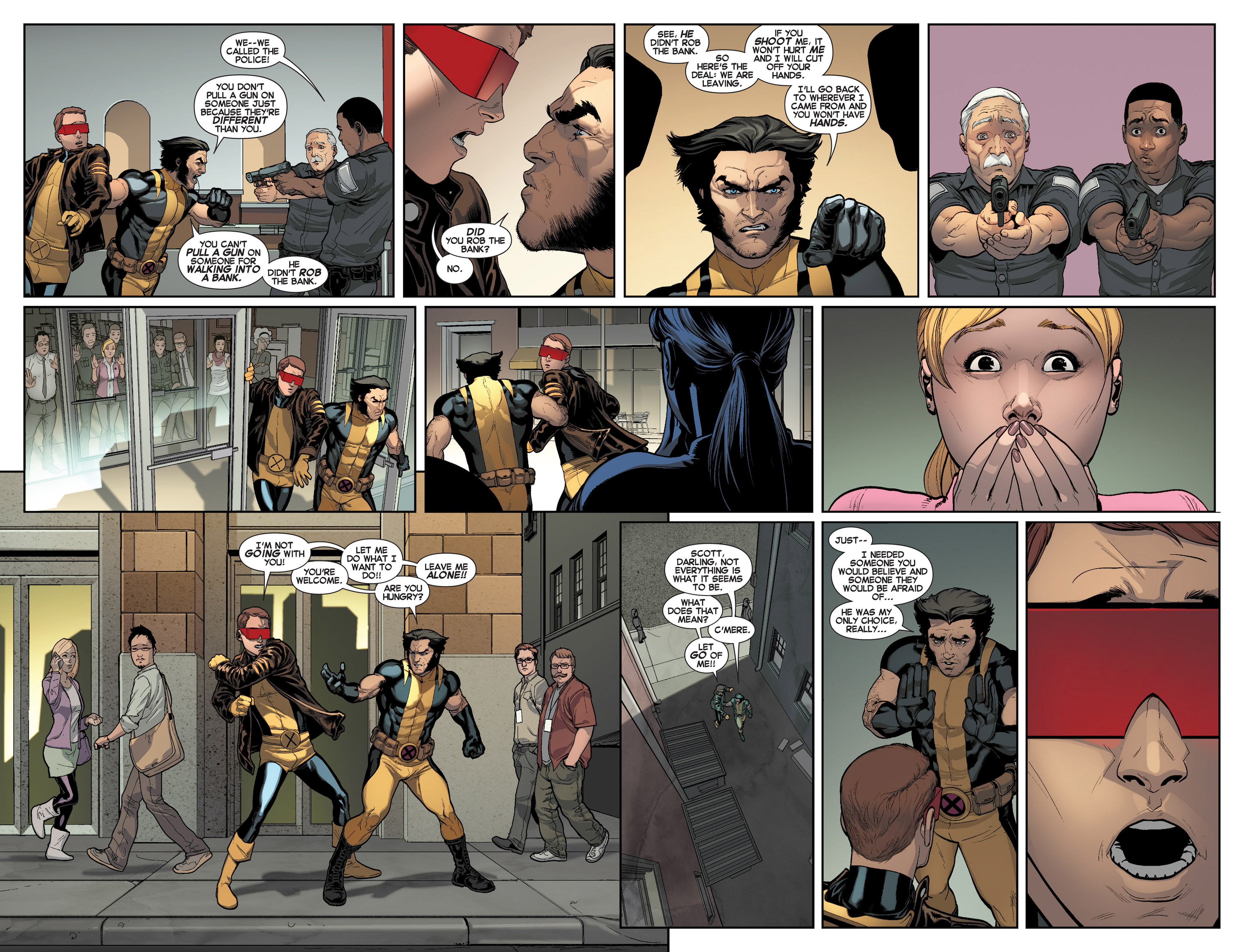 Read online All-New X-Men (2013) comic -  Issue #7 - 9