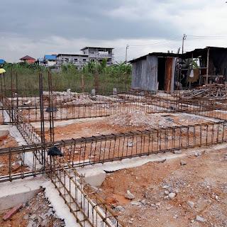 ก่อสร้างอพาร์ทเม้นท์ 2 ชั้น