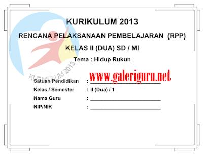 Download Prota dan Promes Kurikulum 2013 untuk kelas 2 dan 5 SD