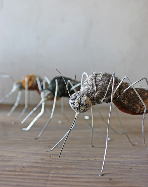 Ann Wood, artists, artist interview, mosquitoes, art dolls, My Giant Strawberry