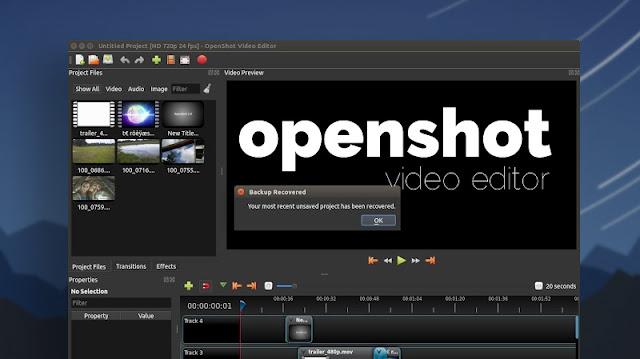 Opensho Editor.