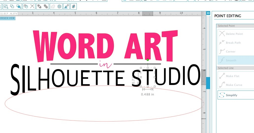 So You Can Make Word Art In Silhouette Studio Silhouette School