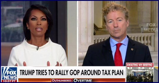 Rand Paul sells the Trump tax plan