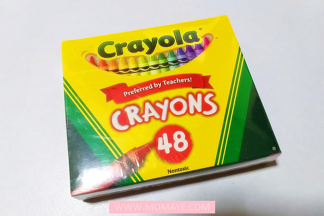 SM Department Store, SM Stationery, Crayola, crayons