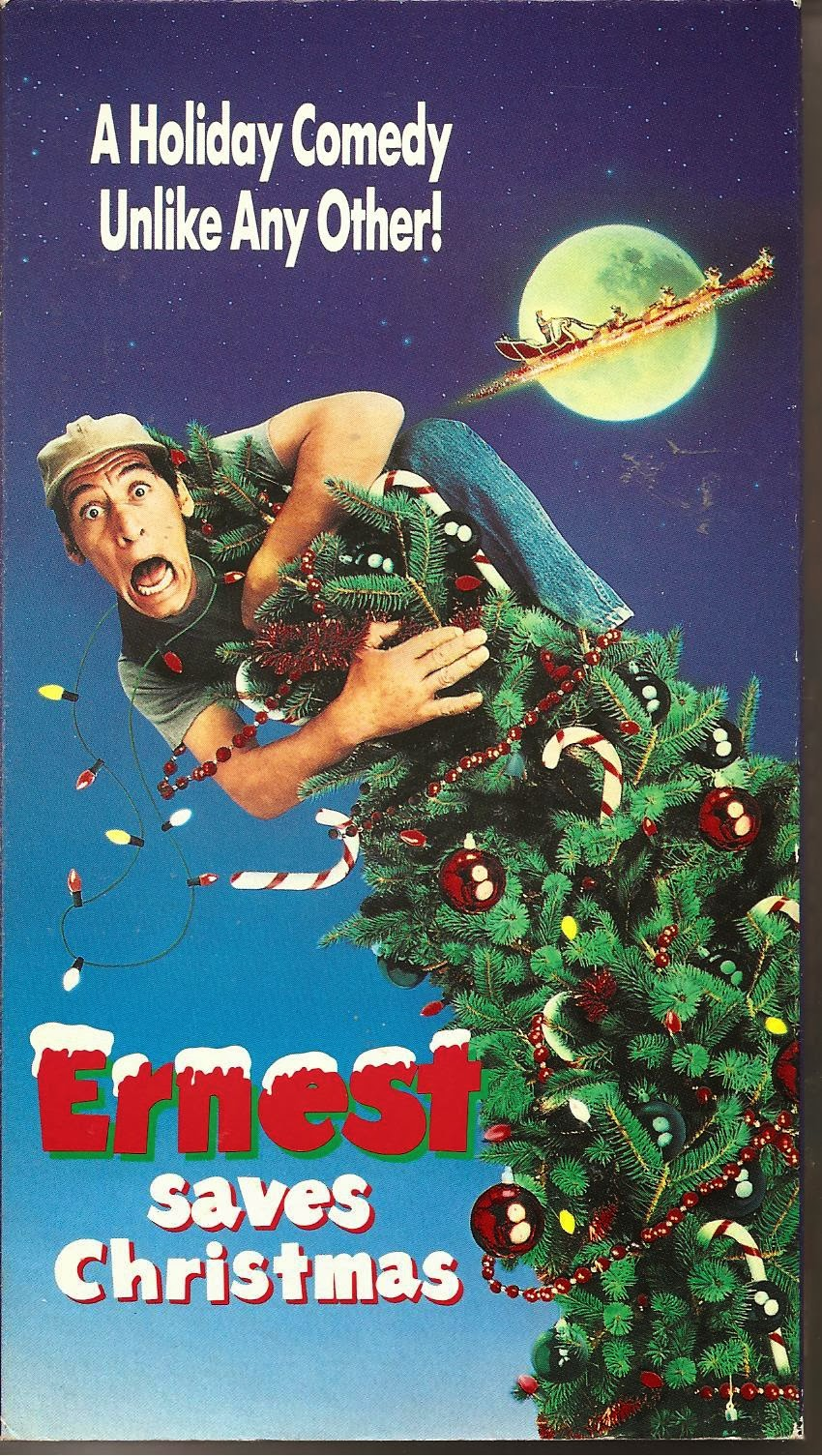 Ernest Christmas.Schuster At The Movies Ernest Saves Christmas 1988