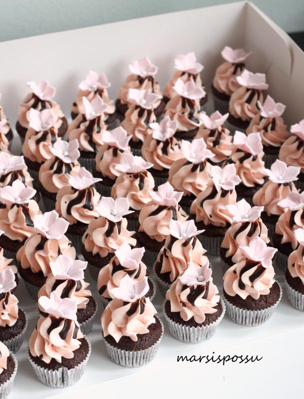 vadelma-suklaakuppikakku