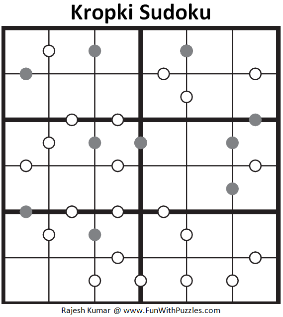 Kropki Sudoku (Mini Sudoku Series #77)