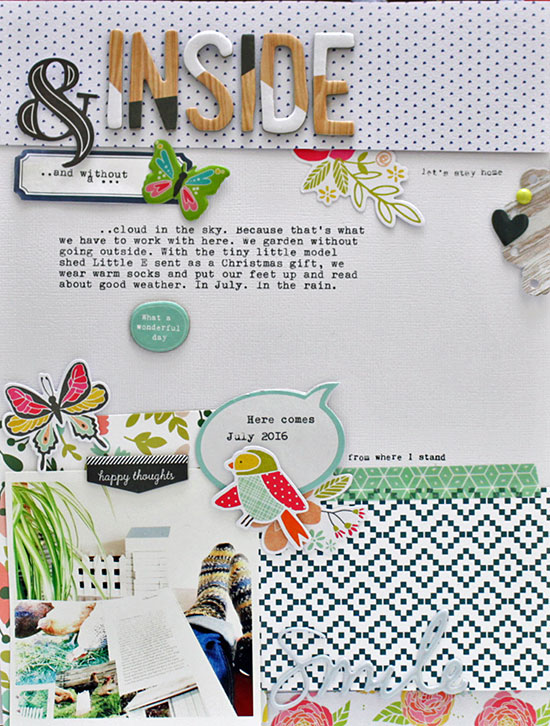 Sian Fair: July projects for Gossamer Blue