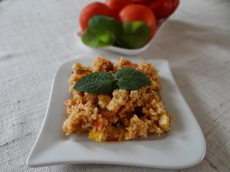 Smażony ryż po tajsku