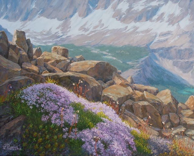 Горные пейзажи. Waclaw Pietucha