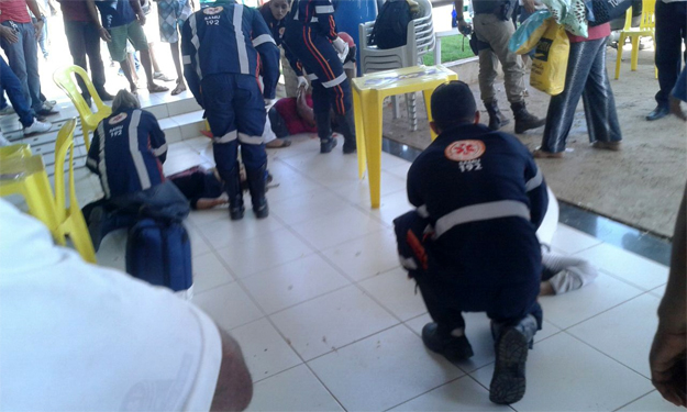 Várias pessoas são baleadas, três morreram, em posto de Combustíveis de Barreiras